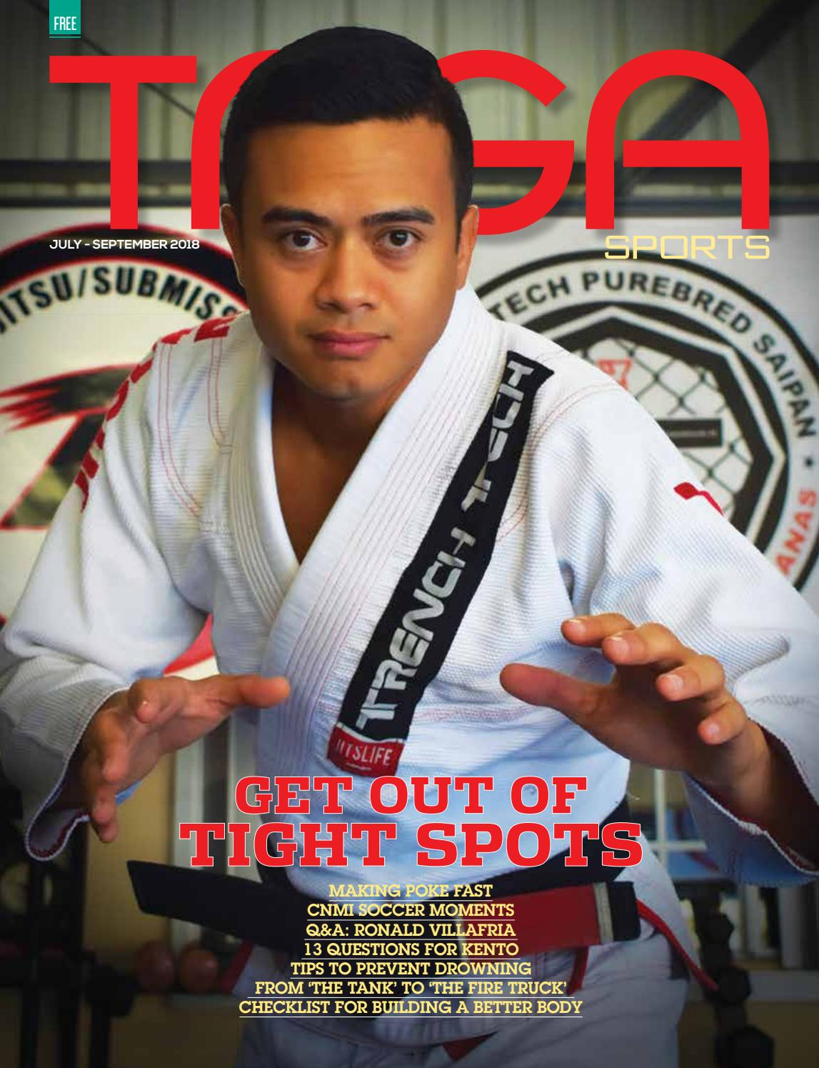 Taga Sports July-September 2018 by Saipan Tribune - issuu