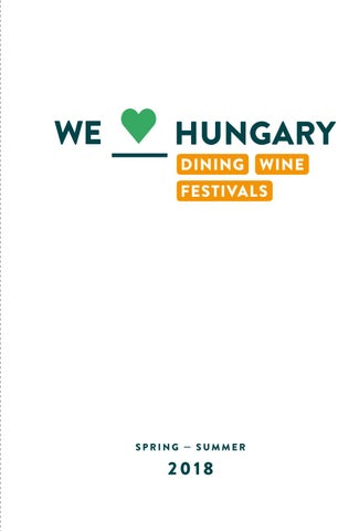 b1e29d8fa2 We Love Hungary Pocket Guide Spring/Summer 2018 by We Love Budapest ...