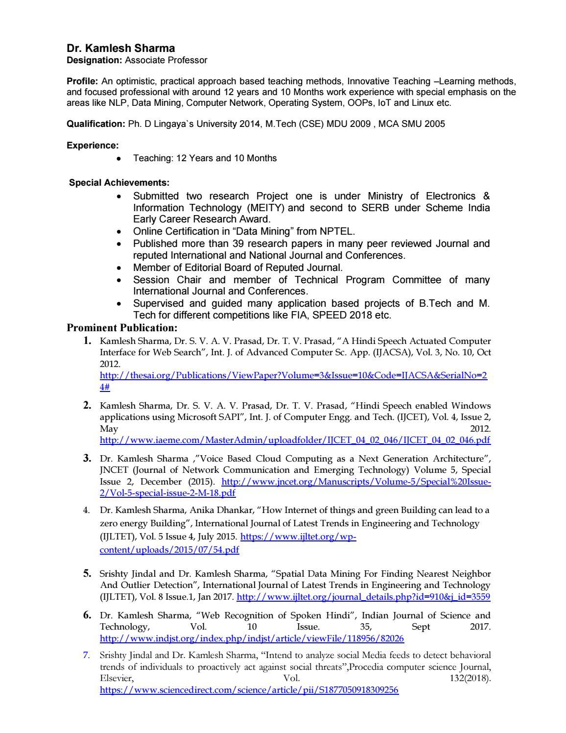 dr_kamlesh_sharma by Manav Rachn University - issuu