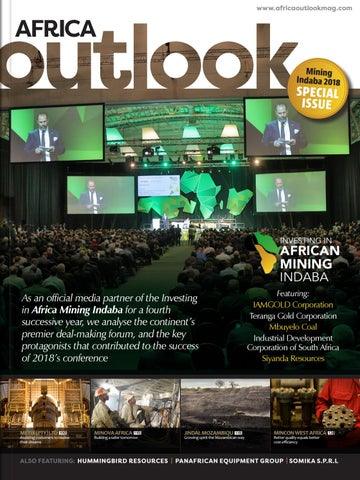 Africa Outlook - Mining Indaba 2018 by Outlook Publishing