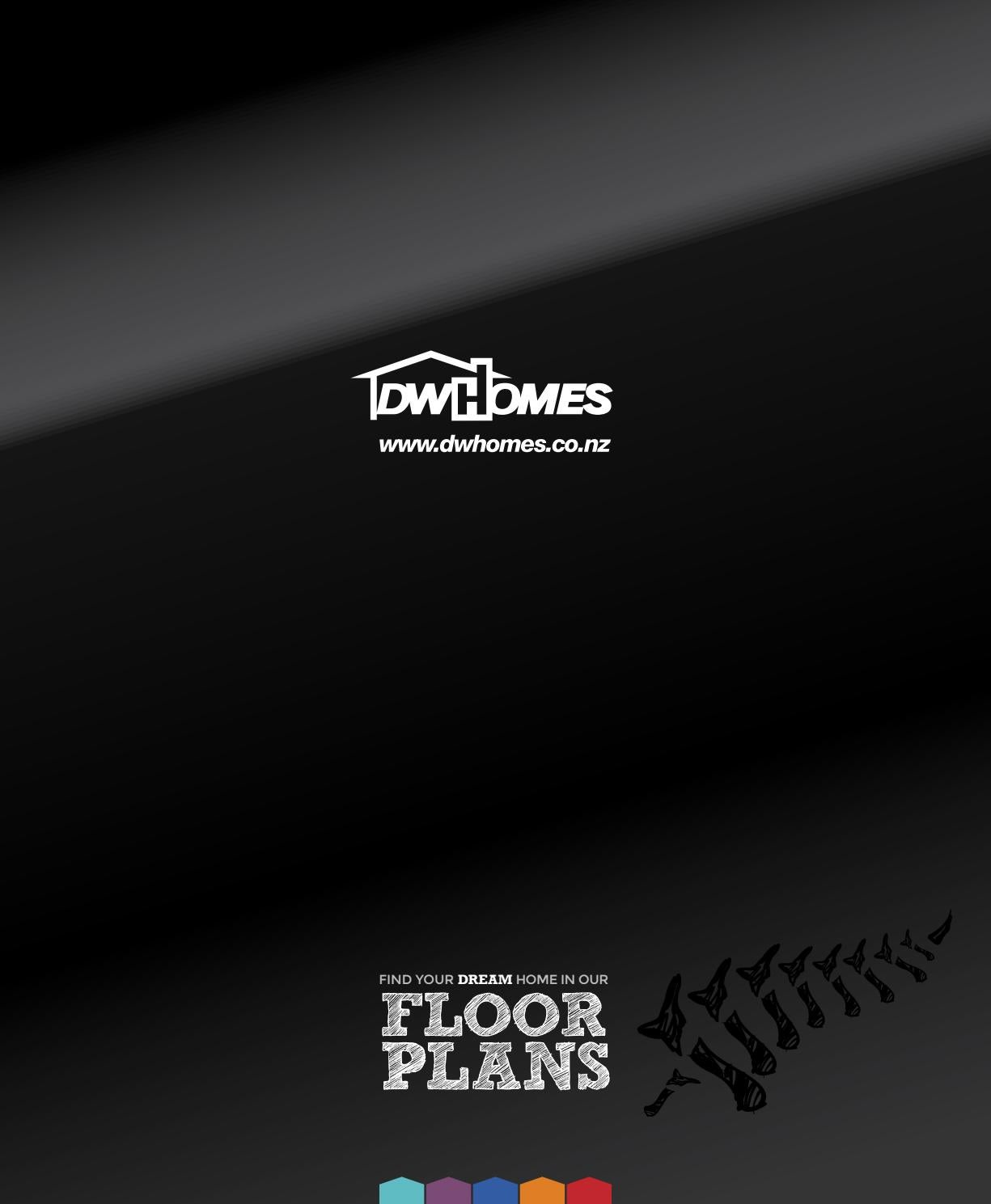 Dw Homes Floor Plans 2018 By Dwhomes9 Issuu