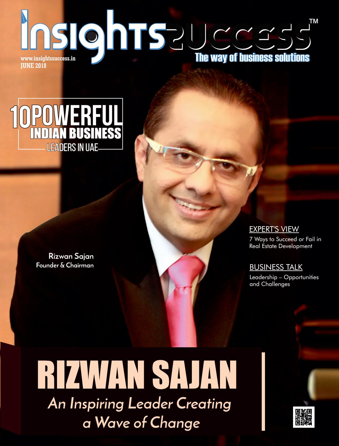 10 Powerful Indian Business Leaders In Uae By Insights Success Media Issuu