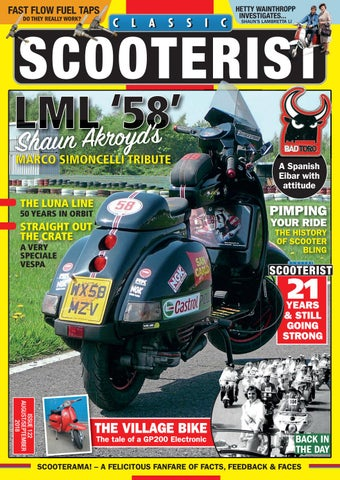 Classic Scooterist August/September 2018 by Mortons Media Group Ltd