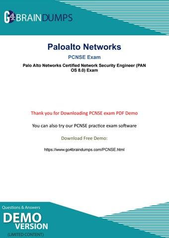 Go4braindumps Actual Paloalto Networks PCNSE Exam Dumps For