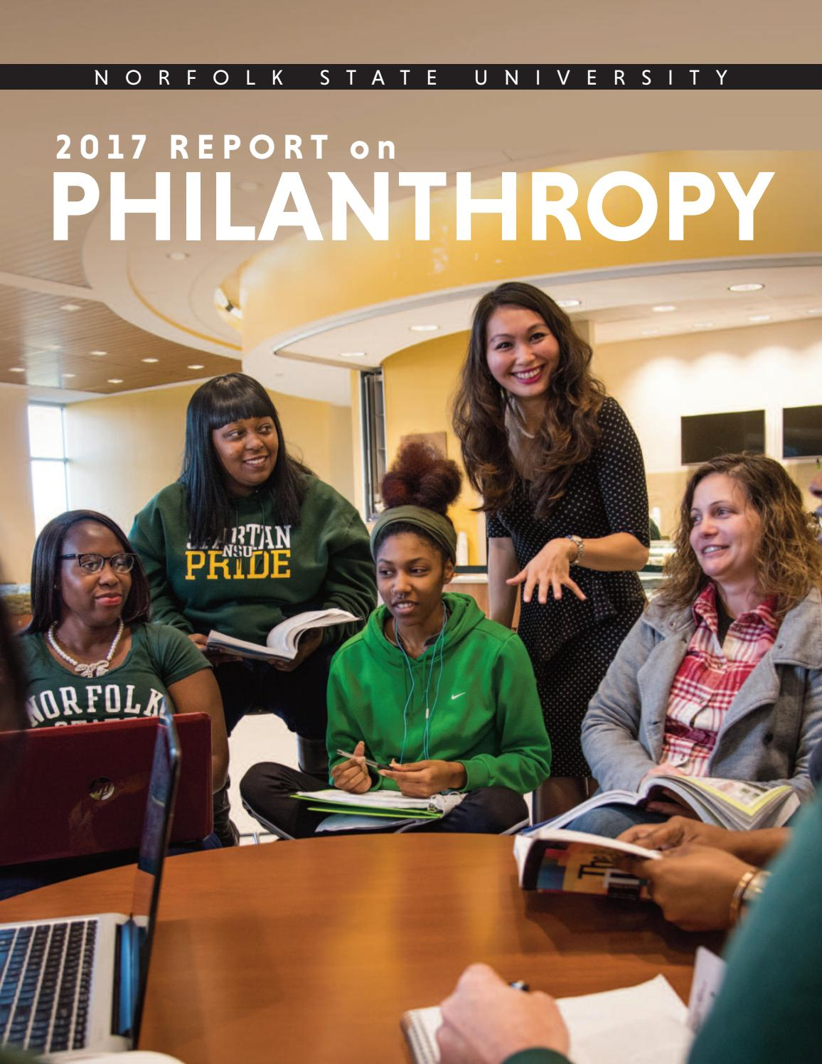 Norfolk State University Philanthropy Report By Norfolk State University Issuu