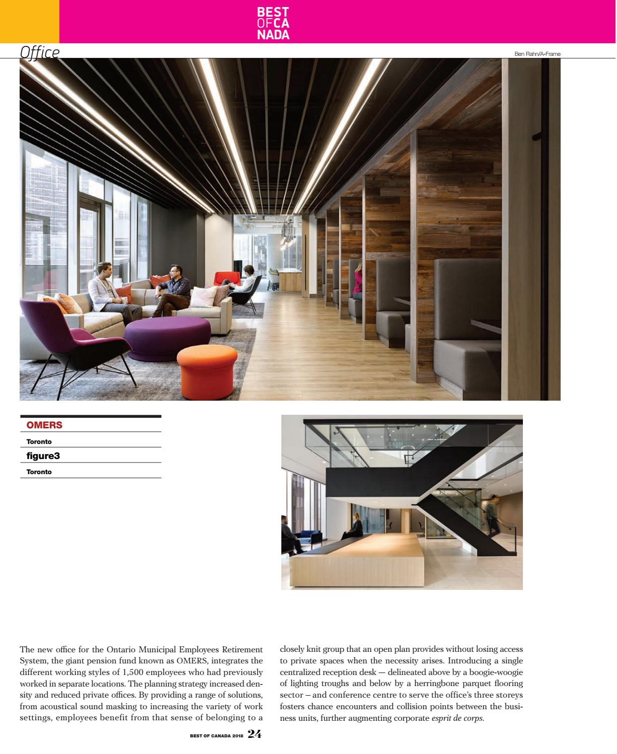 Canadian Interiors 2018 Best of Canada Awards Issue by IQ