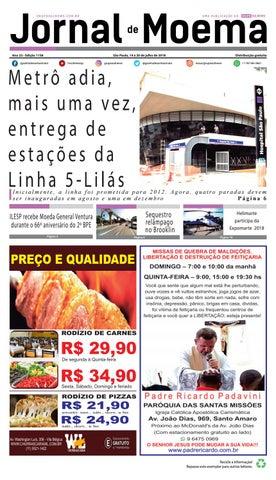 0356e727edb6 JORNAL DE MOEMA - Edição 1158 - São Paulo, 14 a 20 de julho de 2018 ...