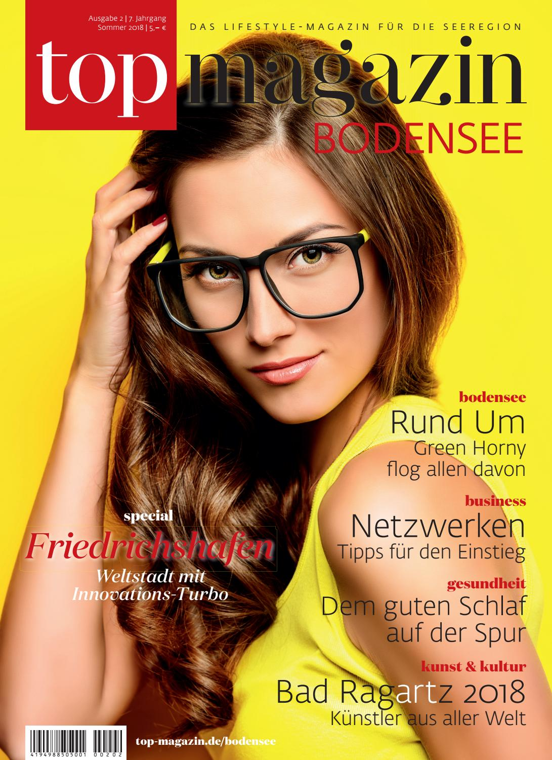 Top Magazin Bodensee Sommer 2018 By Top Magazin Issuu