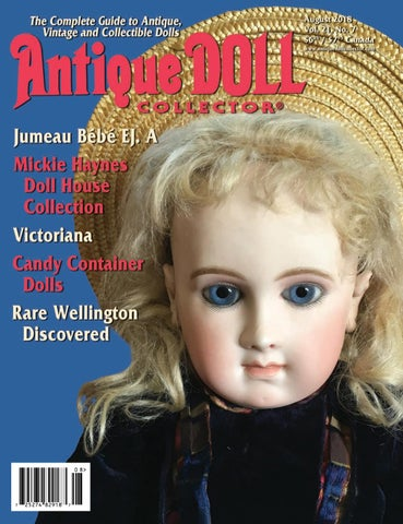 Page 1 of Antique Doll Collector Magazine