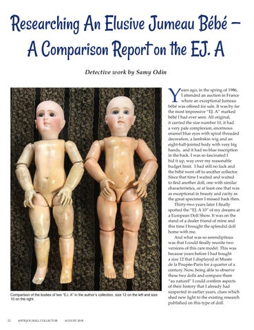 Page 24 of Report on EJ. A by Samy Odin