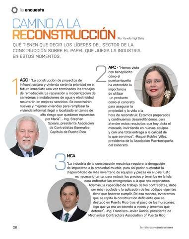 Page 26 of Camino a la reconstrucción