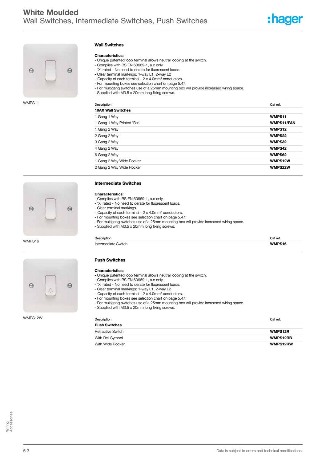 Wiring 2 Intermediate Switches