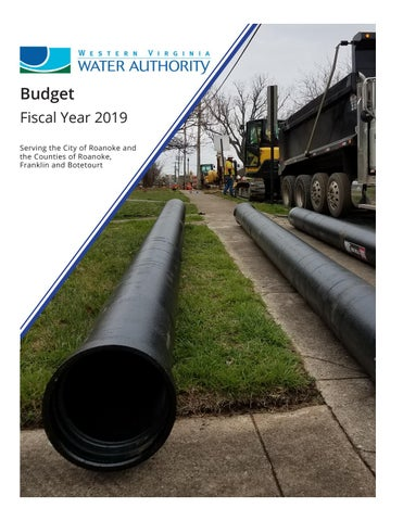 Western Virginia Water Authority Fiscal Year 2019 Budget by Western ...