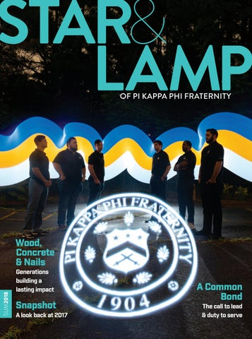 3f182c66973 Star & Lamp - Summer 2018 by Pi Kappa Phi - issuu