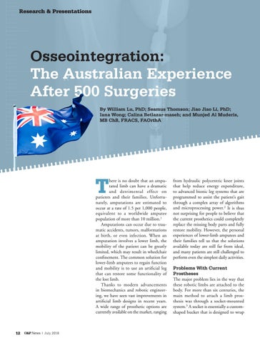 Page 14 of Osseointegration: The Australian Experience after 500 Surgeries