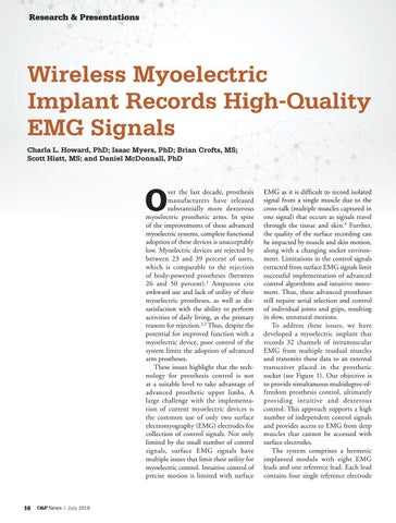 Page 18 of Wireless Myoelectric Implant Records High-Quality EMG Signals