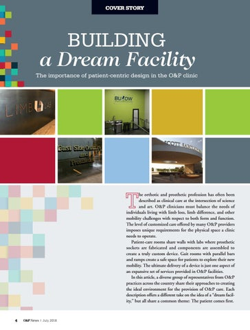 Page 6 of Building a Dream Facility
