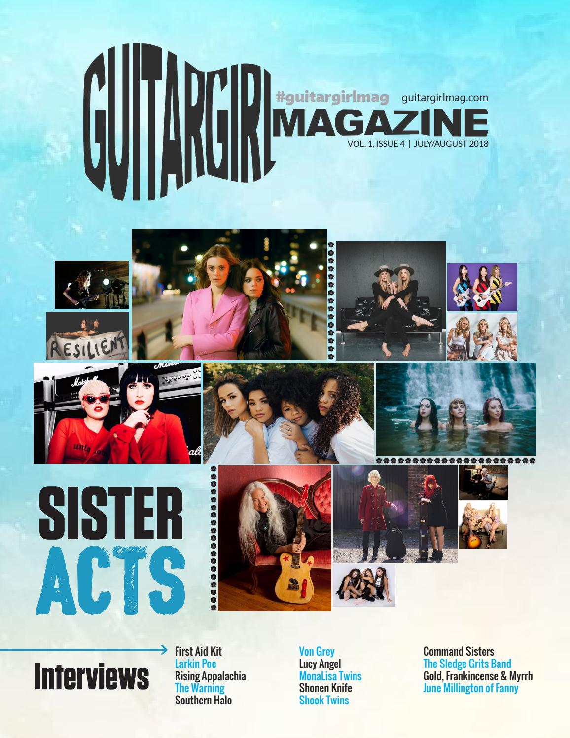 Guitar Girl Magazine - Sister Acts - Vol  1, Issue 4 by Tara Low - issuu