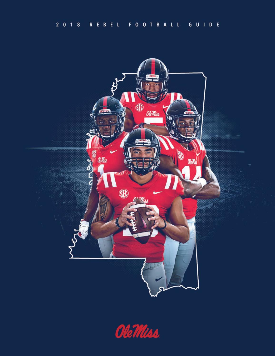 2018 Ole Miss Football Guide By Ole Miss Athletics Issuu
