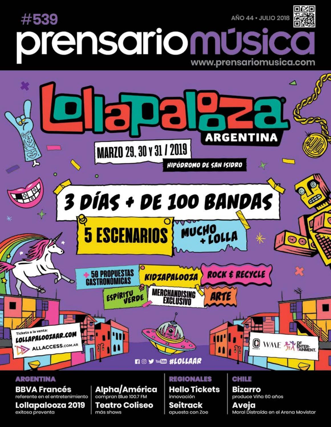 01e50f1c22c Prensario Musica - Julio 2018 by Prensario - issuu