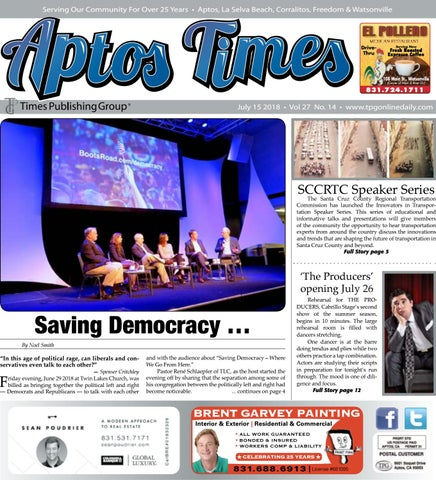 Aptos Times: July 15, 2018 by Times Publishing Group, Inc  - issuu