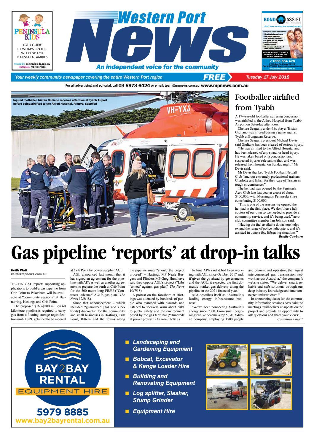 eceacc38739 17 July 2018 by Mornington Peninsula News Group - issuu