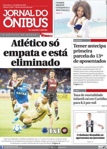 3762525c4 Jornal do Ônibus de Curitiba - 17 07 18 by Editora Correio ...