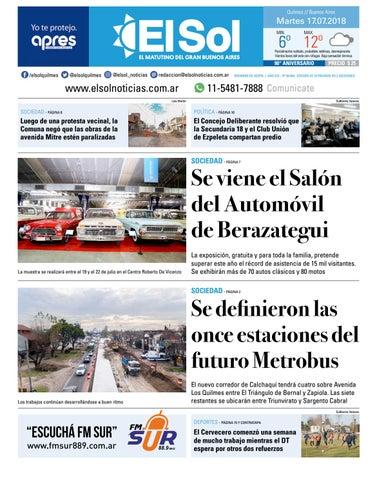 5daa527a41981 Diario EL SOL 17-07-2018 by EL SOL URBANA - issuu