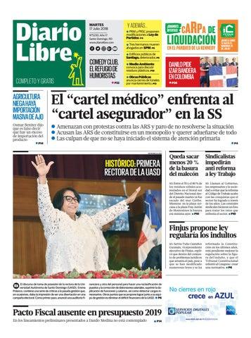 Martes, 17 de julio de 2018 by Grupo Diario Libre, S. A. - issuu