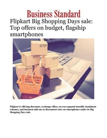f0c7a842d4a1f Flipkart Big Shopping Days sale: Top offers on budget, flagship smartphones