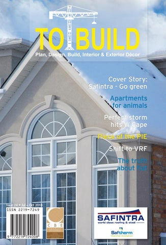 TO BUILD - Issue 24 - July to October 2018 by Media Xpose - issuu