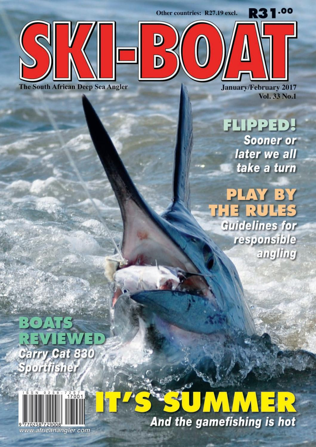 3a0322bb4307 Ski-Boat January 2017 by Angler Publications - issuu