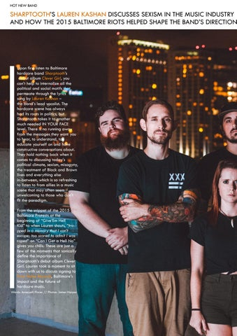 Page 20 of Our Interview With Lauren Kashan of Sharptooth