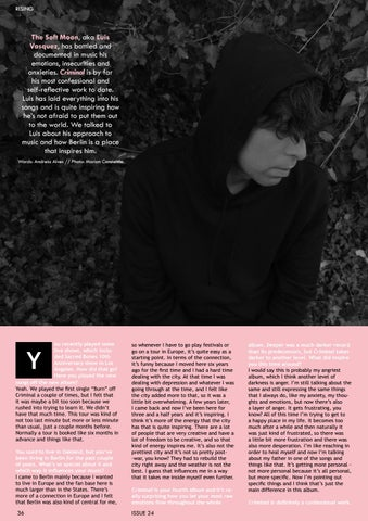 Page 36 of We Talked With Luis Vasquez of The Soft Moon