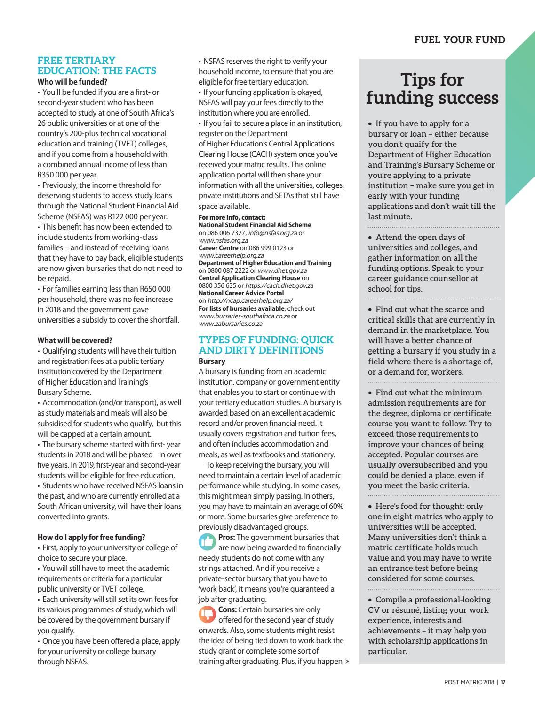 c16dfa8ed9 Post Matric - KZN 2018 by Yes Media - issuu