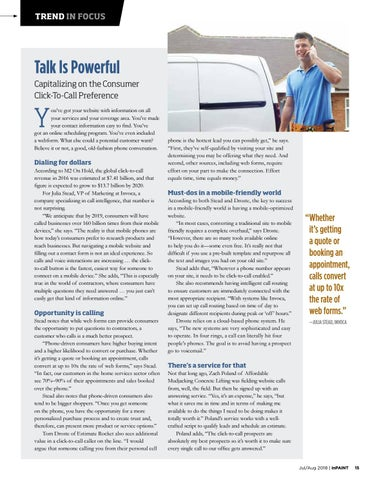 Page 15 of Trends in Focus - Talk is Powerful