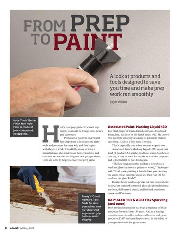 Page 22 of From Prep to Paint