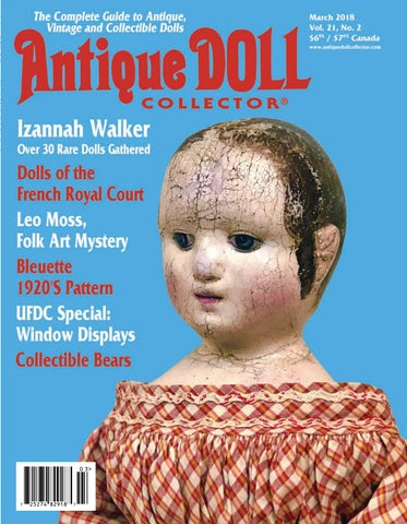 43aca7742b7 March 2018 by Antique Doll Collector Magazine - issuu