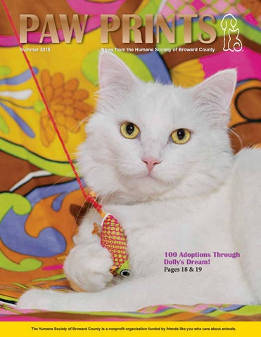Paw Prints Summer 2018 edition by Humane Society of Broward