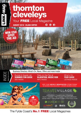 Link Mag Thornton Cleveleys Magazine August 2018 By Link