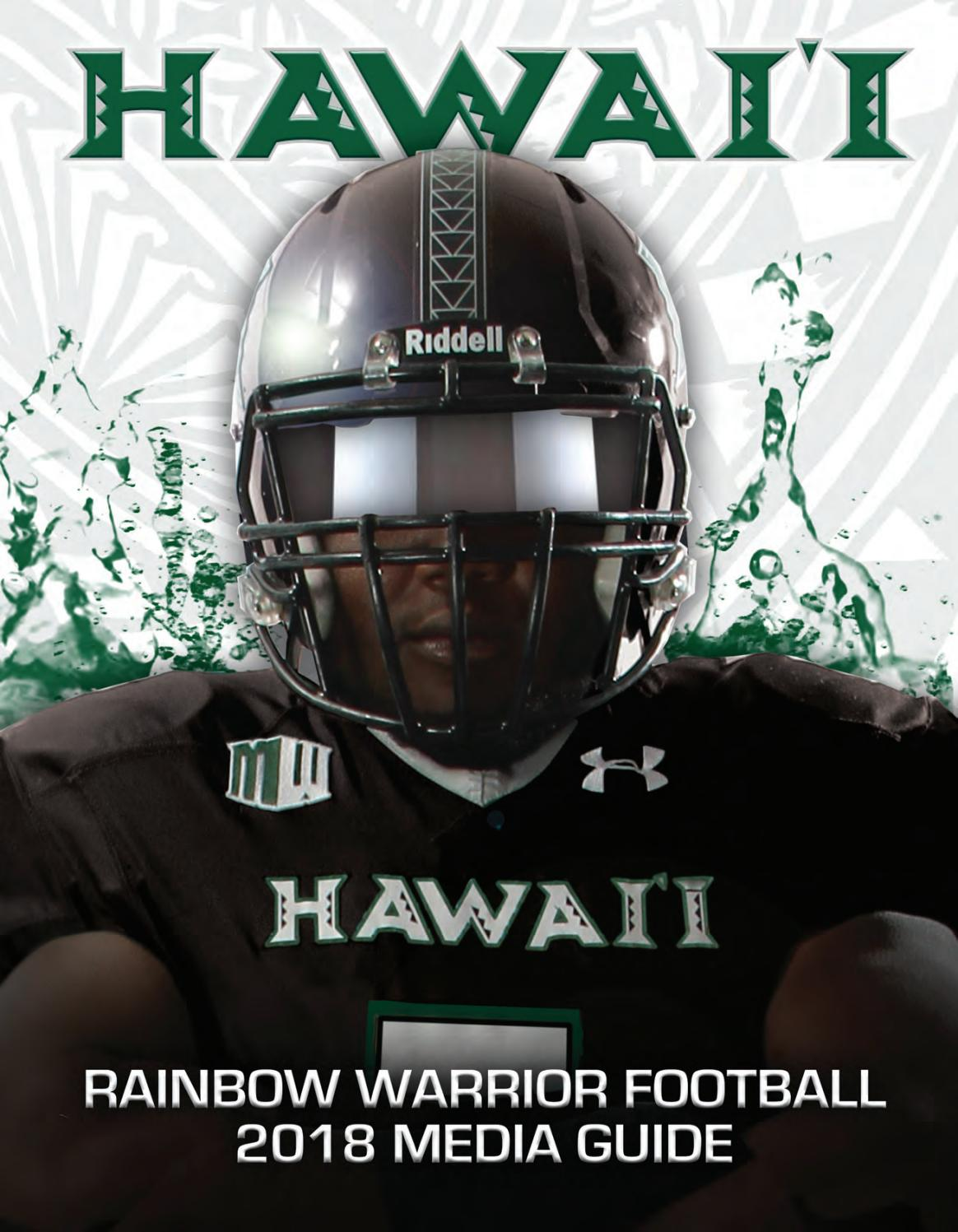 2018 Hawaii Football Media Guide by hawaiiathletics1  for sale