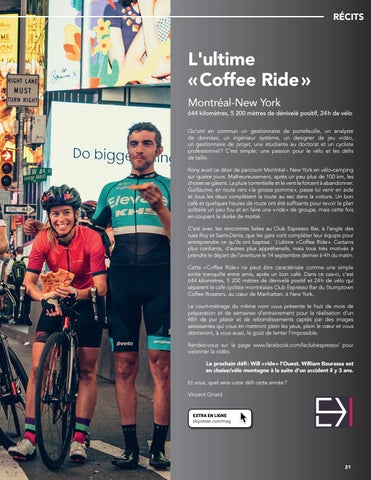 "Page 21 of L'Ultime ""Coffee Ride"", par Vincent Girard"