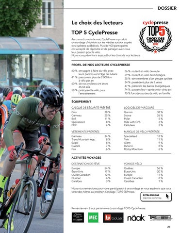 Page 27 of Le Top5 CyclePresse