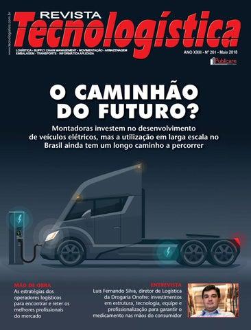 c8e6ccbacab Revista Tecnologística Ed.261 - Maio 2018 by Publicare - issuu