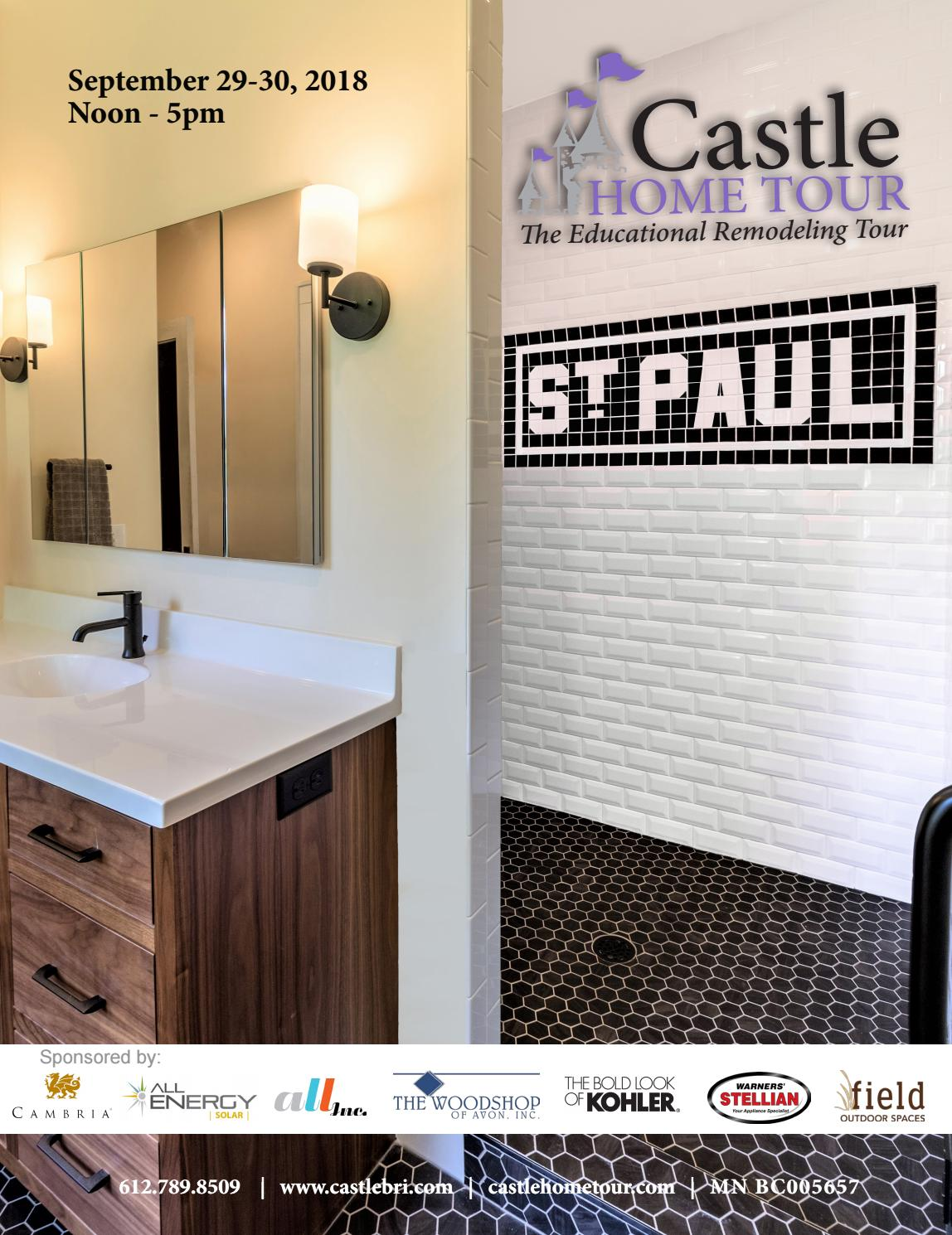 2018 Castle Home Tour Guidebook By Castlebri Issuu Kitchen Faucet Parts Additionally Kohler K 6331 List And Diagram