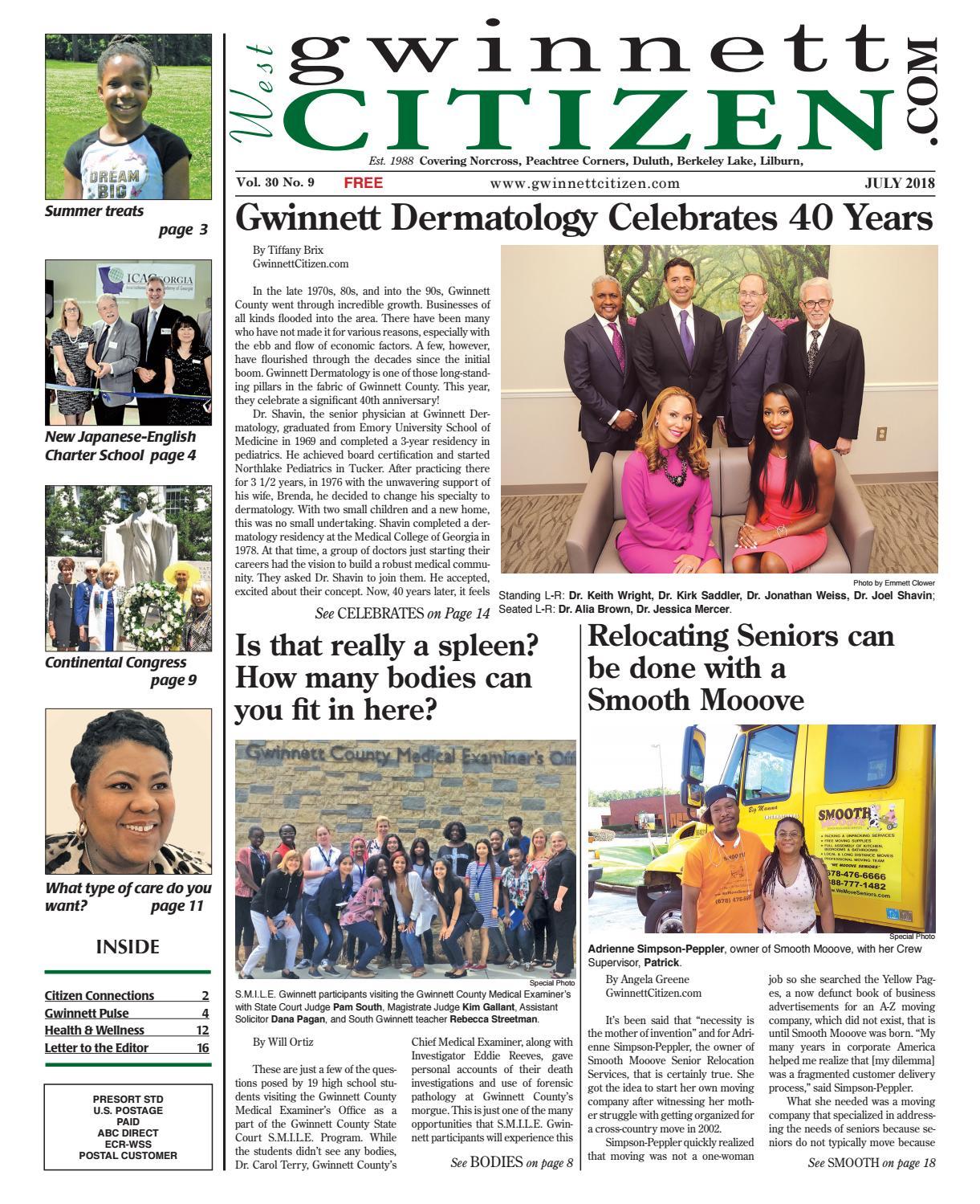 Gwinnett Citizen West July 2018 by GwinnettCitizen com - issuu