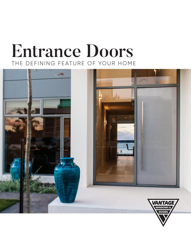 Vantage Entrance Doors Brochure By Apl Architectural Profiles Ltd