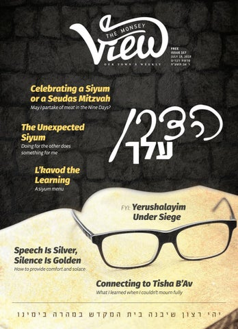 4b14e5d86b Issue 157 by The Monsey View - issuu
