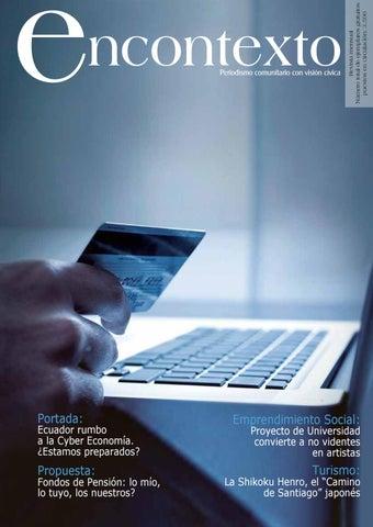 Revista Encontexto edición 49 by Ecuador Encontexto - issuu 60afa5cf7f9