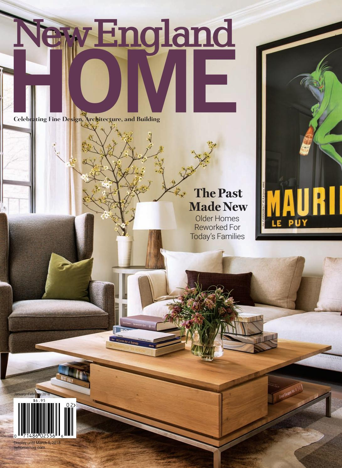 New England Home January February 2018 By Martha Ivory Top Leux Studio L Magazine Llc Issuu